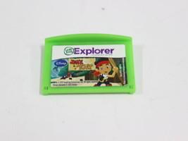 Leap Frog Explorer Learning Game Disney's Jake Neverland Pirates - $6.99