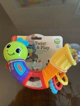 Infantino Topsy Turvy Twist and Play Caterpillar Rattle - $10.73