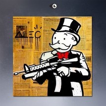 """Alec Monopoly """"Deed Bonds Mortgage"""" HD print on canvas large wall pictur... - $25.73"""