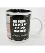 Harley Davidson Mug Perfect Balance of Fun and Adventure Motorcycle Stun... - $15.83