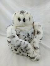 "Folkmanis Snowy Owl Hand Puppet Plush 12"" 2017 23"" Wingspan Stuffed Animal Toy - $17.95"