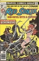 (CB-4) 1977 Marvel Comic Book: Red Sonja #7 - $8.00