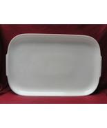 "ROSENTHAL China - HELENA Pattern (all white) - 18"" SERVING PLATTER - $48.95"