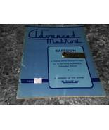 Rubank Advanced Method Bassoon by H Voxman No 105 - $3.99