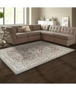 Superior Glendale Collection Gray Oriental Design 4' x 6' Area Rug  - $47.95