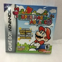 Super Mario Advance Nintendo Game Boy Advance 2001 Factory Sealed - $59.39