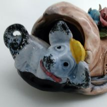 """Capodimonte 10"""" long Old Folley Shoe w/ Mouse In the Toe Made in Italy  image 5"""