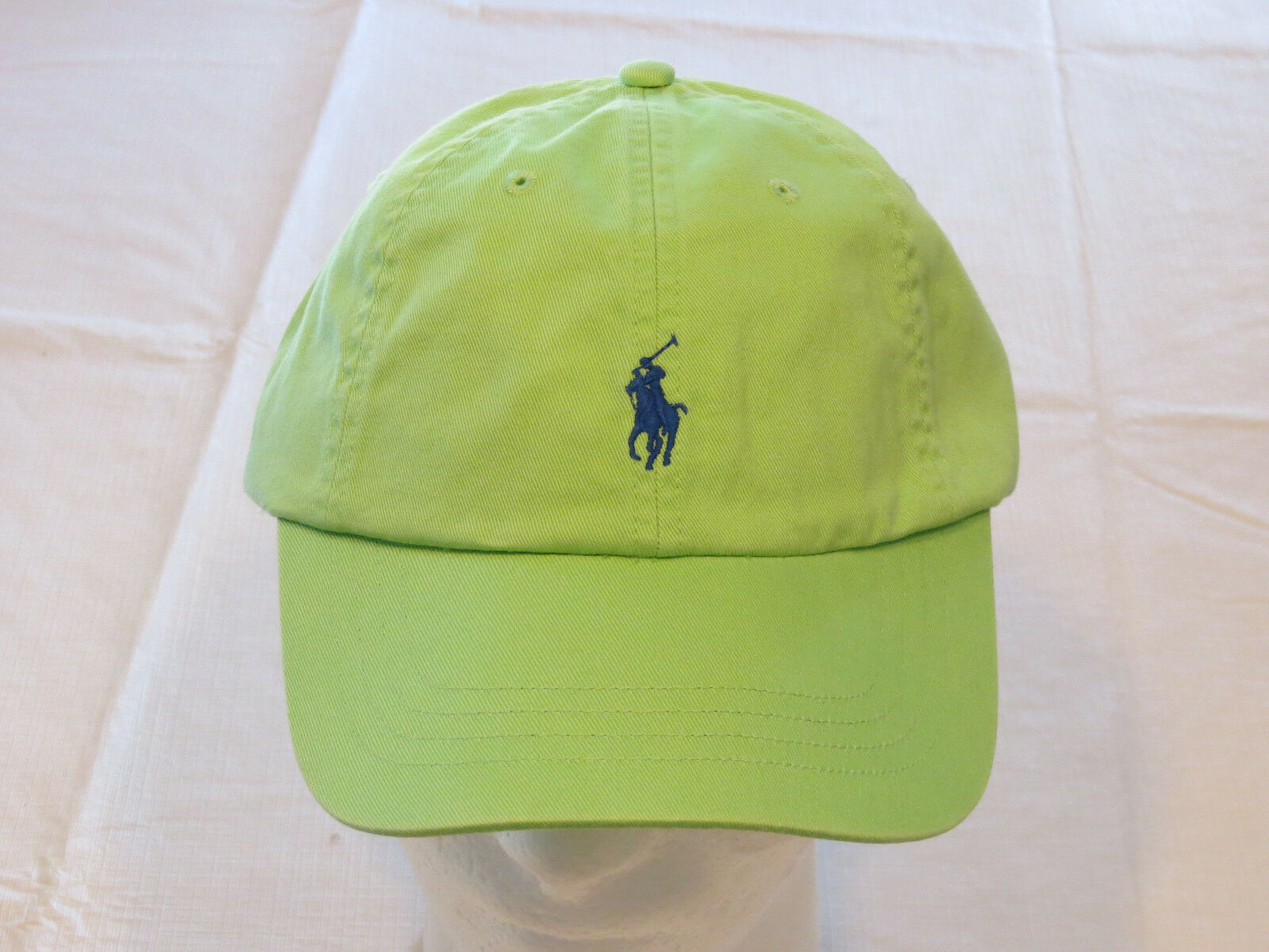 Primary image for Mens Polo Ralph Lauren hat cap golf casual Green 4331002 adjustable classic