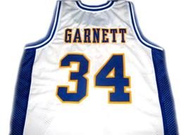 Kevin Garnett #34 Farragut High School Basketball Jersey White Any Size image 2