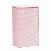 Redmon Chelsea Collection Apartment Hamper Crystal Pink 126CP New - $66.90