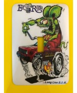 Ed Big Daddy Roth Rat Fink Metal Switch Plate Cars - $9.50