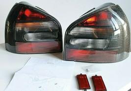 Tail Lights Set New AUDI A3 8L Clear  Black Smoked Taillights  Set 1996-... - $157.41