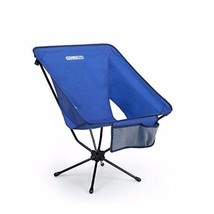 Portable Oversize Folding Big Chair for Patio Outdoor Camping Picnic Blue - $55.04