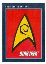 Star Trek card #261 Engineering Insignia - $3.00