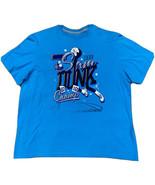 Nike Air Jordan 'Jordan 3' Slam Dunk Champ Men's T-Shirt Size 2XL Blue - $21.78