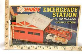 1973 Matchbox Emergency Station by Lesney with Siren Sound/Catapult Action - $75.50