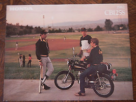 82 Honda CB125S Nos Oem DEALER'S Sales Feuille Literature Brochure - $76.92