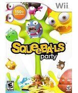 Squeeballs Party (Nintendo Wii, 2009) - $24.95