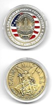 LAPD LOS ANGELES POLICE DEPARTMENT TO PROTECT AND SERVE   CHALLENGE COIN - $11.72
