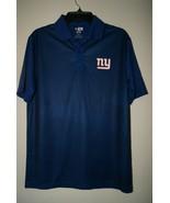 New York Giants NFL Team Apparel TX3 Cool Mens Polo Shirt Short Sleeve M... - $23.75
