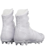 Under Armour Mens UA Highlight MC Lacrosse Cleat 1297358-100 White Size ... - $69.98