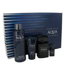 Perry Ellis Aqua Extreme Gift Set By Perry Ellis For Men - $48.85