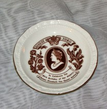 THE QUEEN MOTHER 80th BIRTHDAY TRINKET DISH ROYAL ALBERT 1980 ELIZABETH ... - $16.87