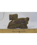Vintage Carved Stone Horse Statue Beasts Oriental  - $56.90