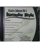 Charles Johnson Volume 1 Christian Karaoke Style NEW CD+G Daywind 6 Songs - $15.86