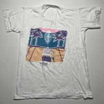 Vintage 90s Yelapa Mexico Destination Beach Palm Trees T Shirt Colorful ... - £17.94 GBP