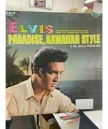 Elvis Paradise, Hawaiian Style Record - $20.00