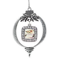 Inspired Silver Angry Mummy Classic Holiday Decoration Christmas Tree Ornament - $14.69