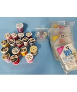 Sewing Craft Rayon Thread Bobbins Hot Glue Melts Lot of Hobby Items  - $24.99