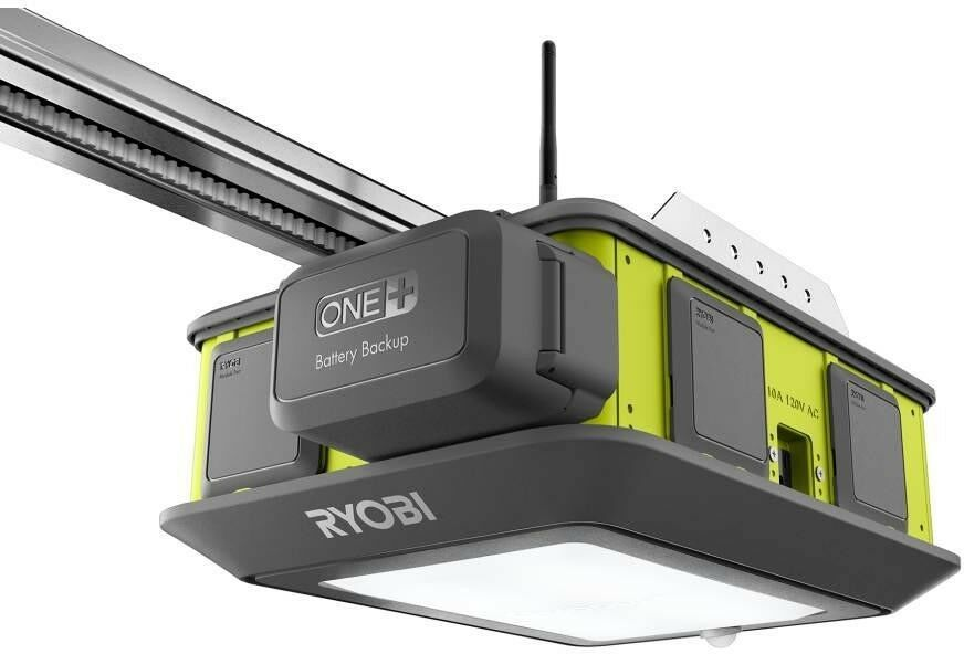 Ryobi Garage Door Opener 2 HP Belt Drive Wireless Keypad