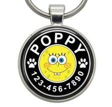 Pet ID Tag - SpongeBob SquarePants - Dog ID Tag, Cat ID Tag, Dog Tag, Ca... - $19.99