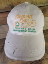 Cresent Oaks Country Club Tarpon Springs Florida Adjustable Adult Hat Cap - $8.90