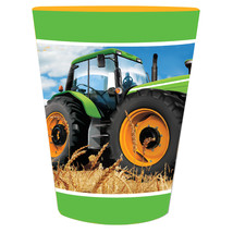 Tractor Time 16 Oz Plastic Keepsake Cup/Case of 12 - $24.71