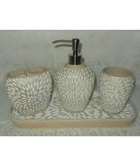 4 Pc Cynthia Rowley Pump Soap Dispenser Toothbrush Holder Tray NWT FREE ... - $69.29