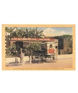 New Orleans LA Aunt Sallys Creole Pralines Old Slave Block Horse Cart Po... - $5.99