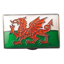 Welsh Red Dragon Flag cymru silver Metal Enamel Badge Lapel /tie Pin Badge 3d ef