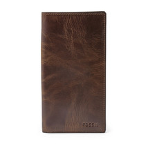 fossil man genuine Leather wallet Ingram Derrick Executive - $29.00