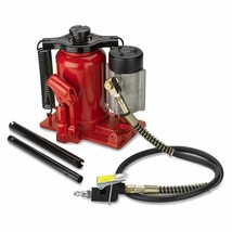 Tooluxe 31010L Low Profile Air Hydraulic Manual Bottle Jack | 20-Ton Cap... - $128.45