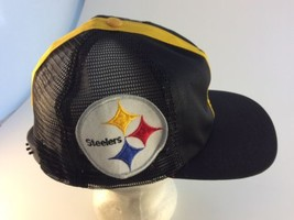 Vintage PITTSBURGH STEELERS helmet cap hat snapback NFL football RARE An... - $22.76