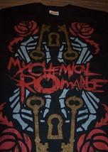 MY CHEMICAL ROMANCE KEYS T-Shirt Band SMALL NEW - $19.80