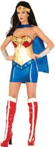 DC Comics Wonder Woman Classic Deluxe Costume, Multi, Small - $217.86