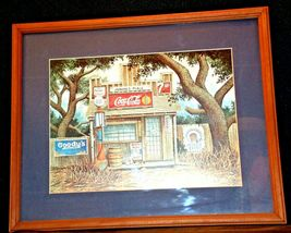 Coca-Cola Picture Junior's Place  AA-191915  Collectible Framed image 3