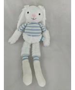 "Manhattan Toy Rabbit Plush Twiggies Billy Knit Blue 16"" Stuffed Animal Toy - $8.95"