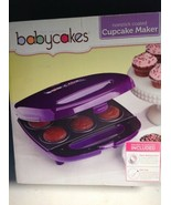 Babycakes Cupcake Maker Purple New In Box - $18.81