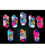 DISNEY FROZEN ANNA&ELSA 5 or 6-Pack Ankle/No-Show Socks Age 4-10 (Sock S... - $9.34+