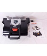 Tefal T-Fal Tfal Fit N Clean Electric Indoor Kitchen Grill Dishwasher Sa... - $34.64